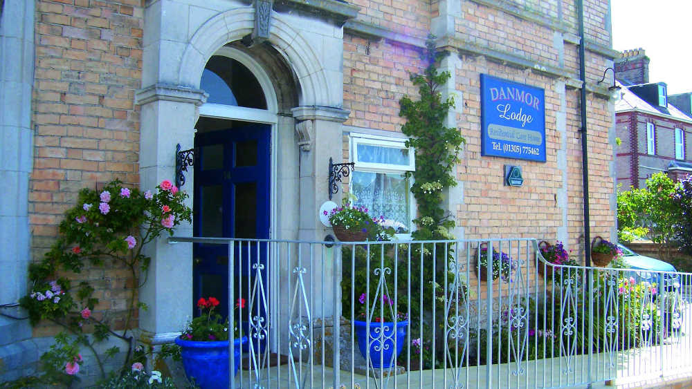 Care Home in Dorset Danmor Lodge